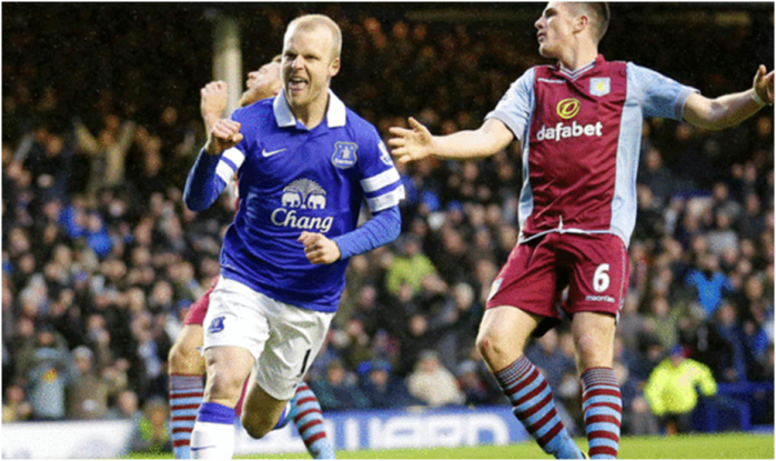 Steven Naismith is Everton's top scorer in 2014 with 11 goals in all competitions